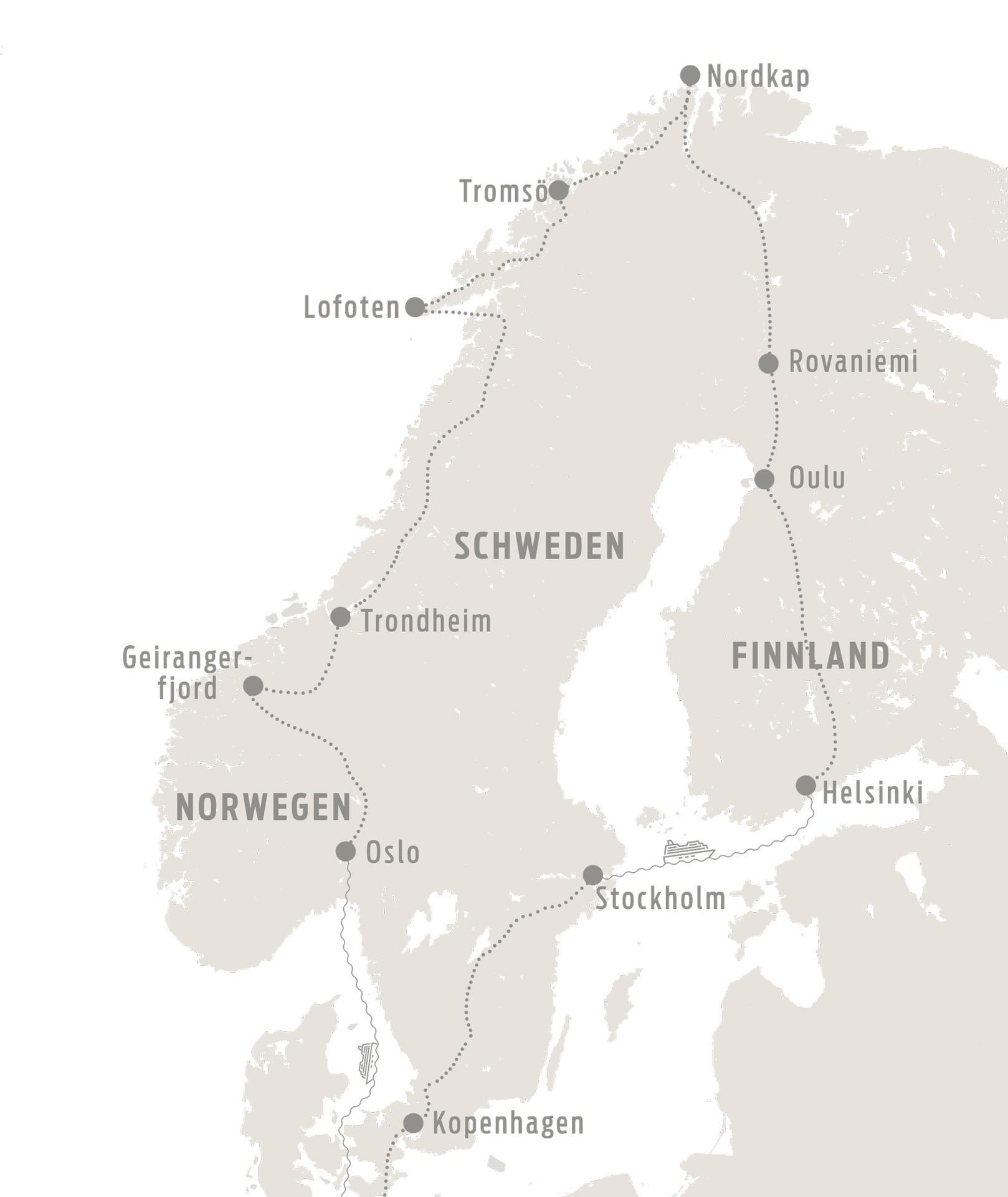 Karte Nordkap 2020 web